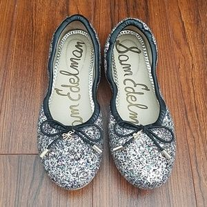 Sam Edelman Shoes - Sam Edelman Glitter Felicia Ballet Flats